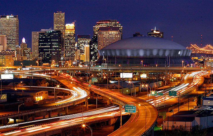 1000  images about New Orleans Skyline on Pinterest